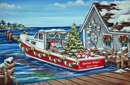 EAST COAST PRINTS :: Boston and New England Christmas Cards